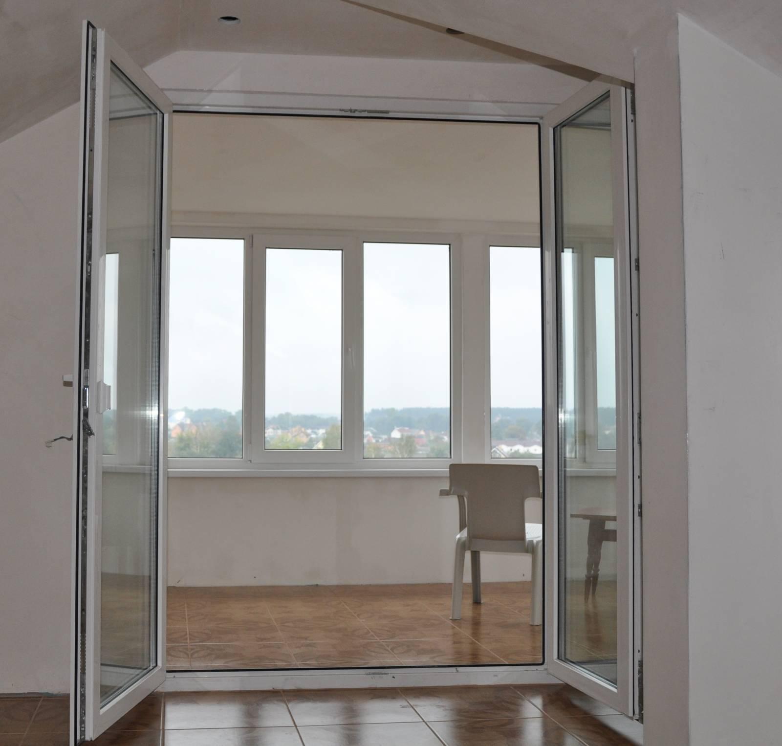 Двери на балкон - фото новинки и лучшие идеи оформления вход.